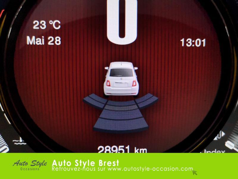 Photo 12 de l'offre de FIAT 500 1.2 8v 69ch Eco Pack Lounge à 10490€ chez Autostyle Brest