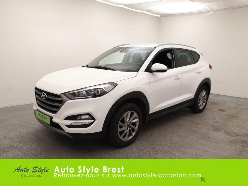 Hyundai Tucson 1.7 CRDI 115ch Business 2WD Diesel Polar White Occasion à vendre