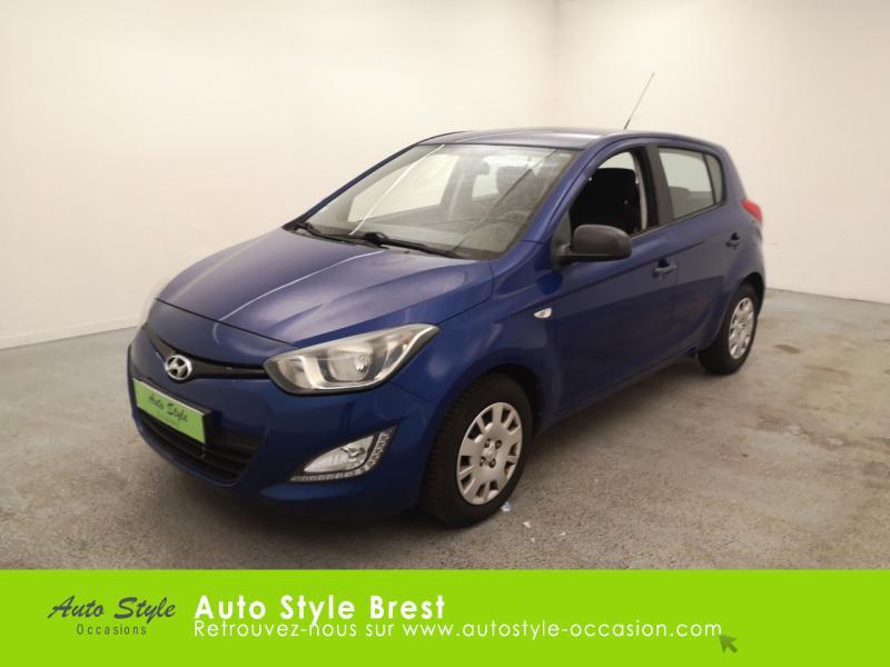 Hyundai i20 1.2 PACK Inventive Essence Pristine Blue Occasion à vendre