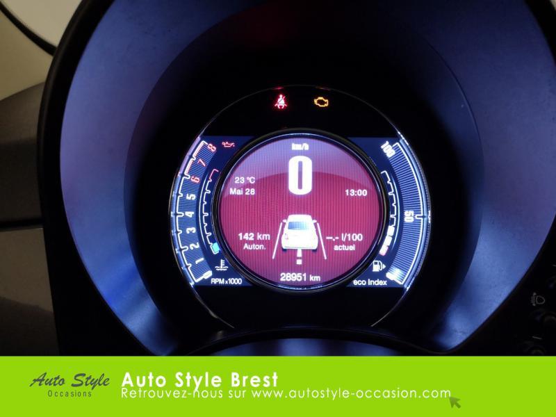 Photo 9 de l'offre de FIAT 500 1.2 8v 69ch Eco Pack Lounge à 10490€ chez Autostyle Brest