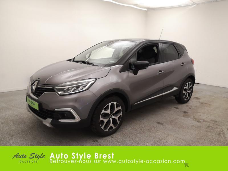 Renault Captur 0.9 TCe 90ch Intens - 19 Essence Gris Cassiopée Occasion à vendre
