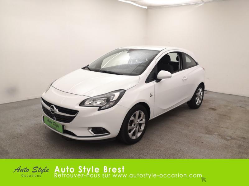 Opel Corsa 1.4 90ch Design 120 ans Start/Stop 5p Essence Blanc Nacré Occasion à vendre