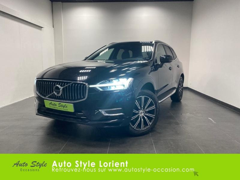 Volvo XC60 D4 AdBlue AWD 190ch Inscription Luxe Geartronic Diesel noir onyx Occasion à vendre