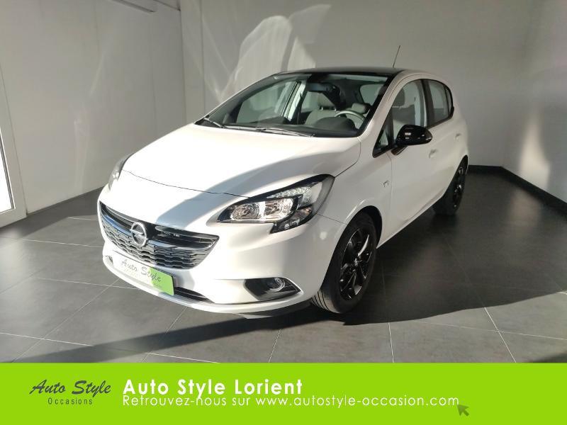 Opel Corsa 1.4 90ch Black Edition 5p Essence Blanc Occasion à vendre