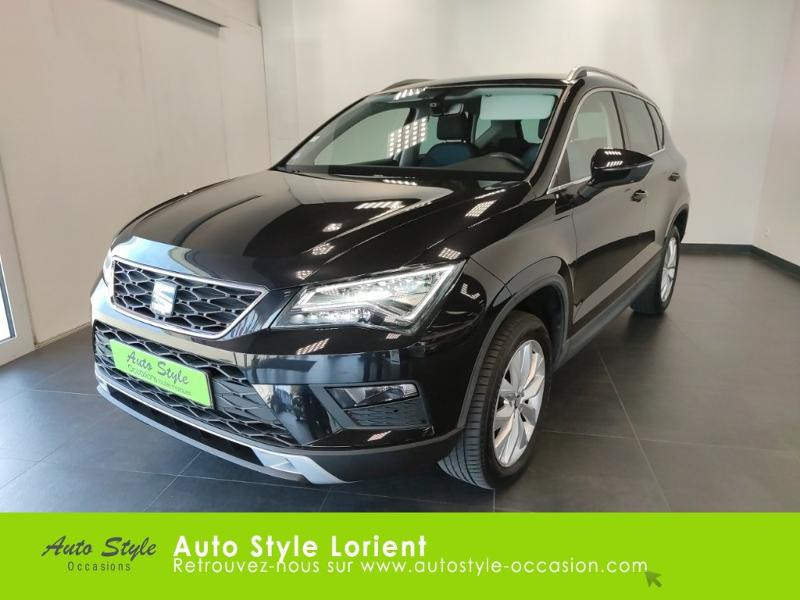 Seat Ateca 1.4 EcoTSI 150ch ACT Start&Stop Style Essence NOIR METAL Occasion à vendre