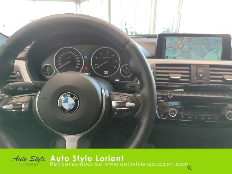Photo 7 de l'offre de BMW Serie 3 318dA 150ch M Sport à 20990€ chez Autostyle Lorient