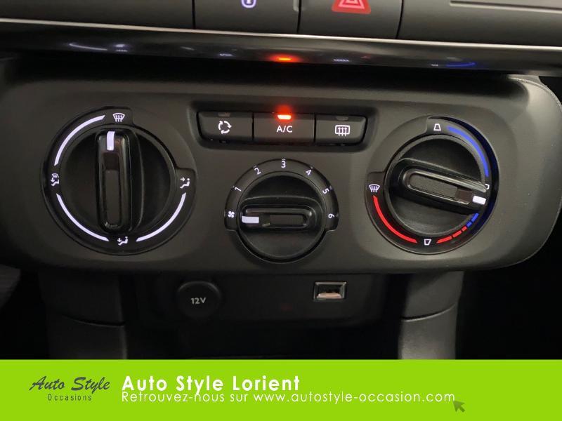 Photo 14 de l'offre de CITROEN C3 PureTech 110ch Feel S&S E6.d à 14900€ chez Autostyle Lorient