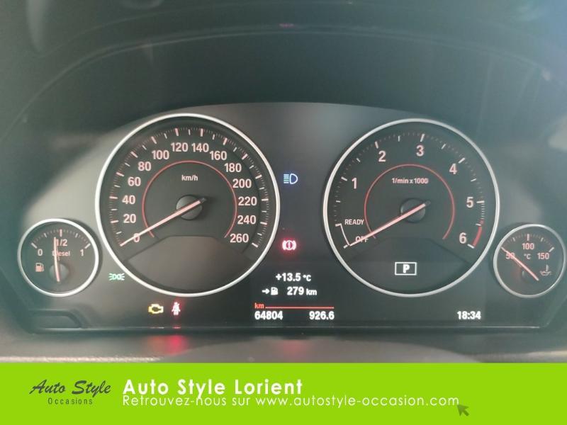 Photo 9 de l'offre de BMW Serie 3 318dA 150ch M Sport à 20990€ chez Autostyle Lorient
