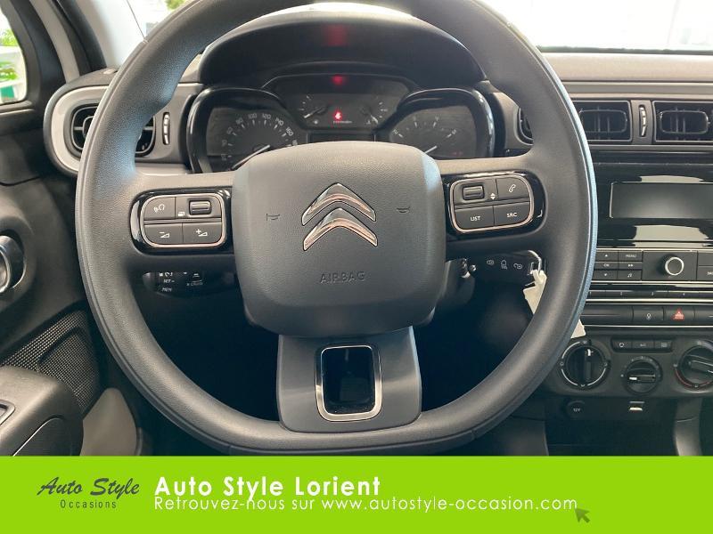 Photo 10 de l'offre de CITROEN C3 PureTech 110ch Feel S&S E6.d à 14900€ chez Autostyle Lorient
