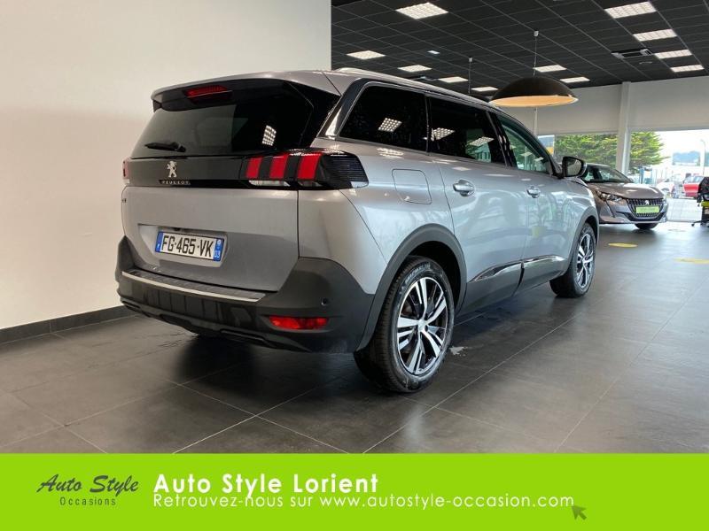 Photo 3 de l'offre de PEUGEOT 5008 1.5 BlueHDi 130ch E6.c Allure S&S EAT8 à 27480€ chez Autostyle Lorient