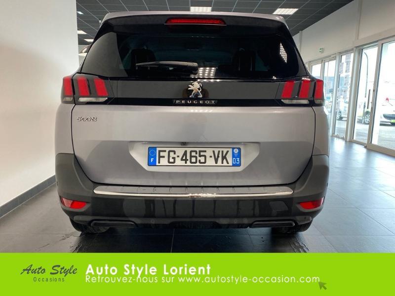 Photo 5 de l'offre de PEUGEOT 5008 1.5 BlueHDi 130ch E6.c Allure S&S EAT8 à 27480€ chez Autostyle Lorient