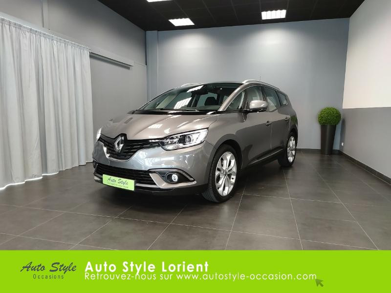 Renault Grand Scenic 1.6 dCi 130ch Energy Business 7 places Diesel GRIS CASSIOPEE Occasion à vendre