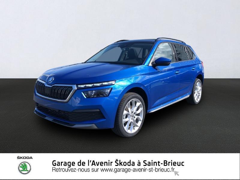 Photo 1 de l'offre de SKODA Kamiq 1.5 TSI 150ch Style DSG7 à 26990€ chez Garage de l'Avenir - SKODA Saint Brieuc