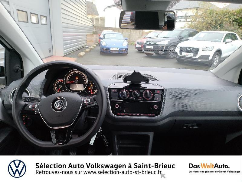 Photo 6 de l'offre de VOLKSWAGEN up! 1.0 60ch BlueMotion Technology Move up! 5p Euro6d-T à 10990€ chez Garage de l'Avenir - SKODA Saint Brieuc