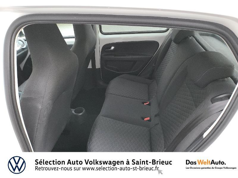 Photo 11 de l'offre de VOLKSWAGEN up! 1.0 60ch BlueMotion Technology Move up! 5p Euro6d-T à 10990€ chez Garage de l'Avenir - SKODA Saint Brieuc