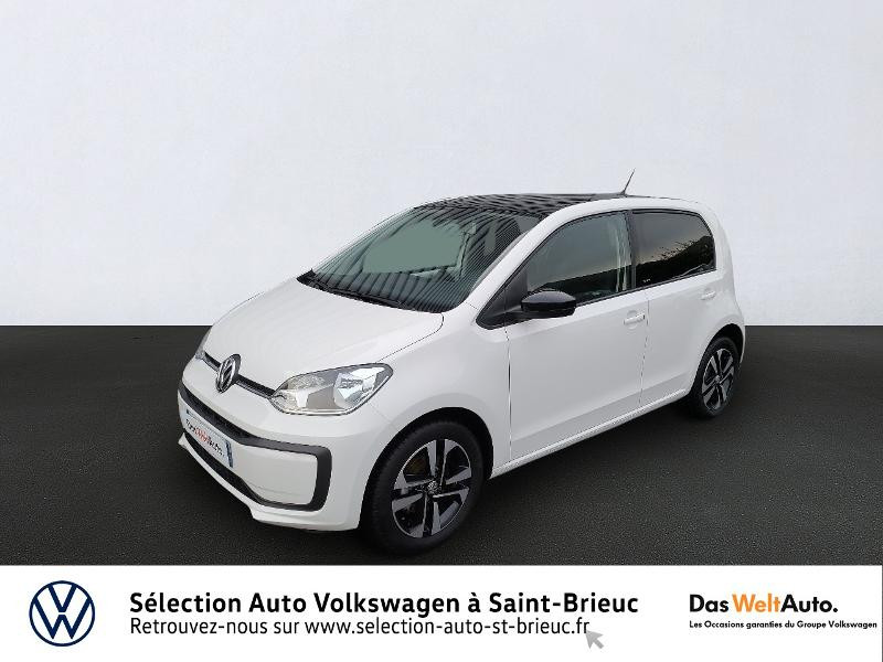 Photo 1 de l'offre de VOLKSWAGEN up! 1.0 60ch BlueMotion Technology Move up! 5p Euro6d-T à 10990€ chez Garage de l'Avenir - SKODA Saint Brieuc