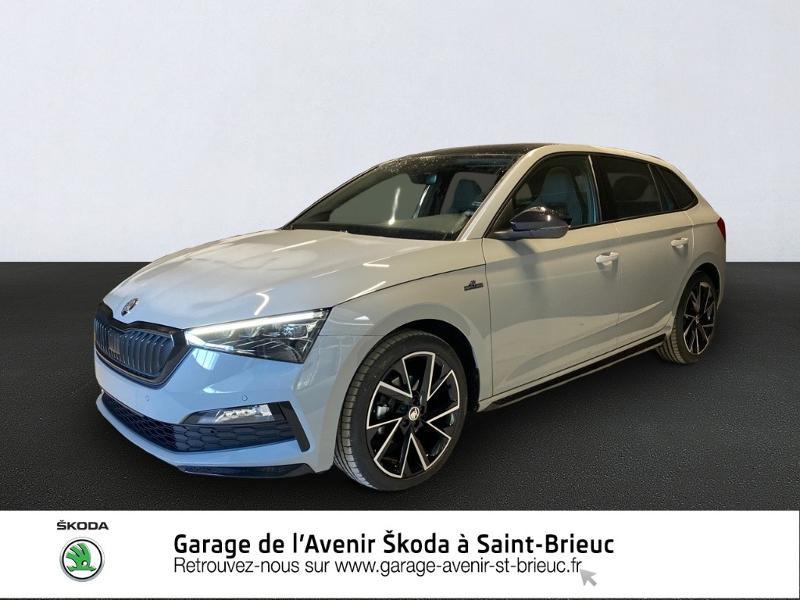 Skoda Scala 1.5 TSI 150ch Monte-Carlo DSG7 Euro6d-T EVAP Essence GRIS PERLE Occasion à vendre