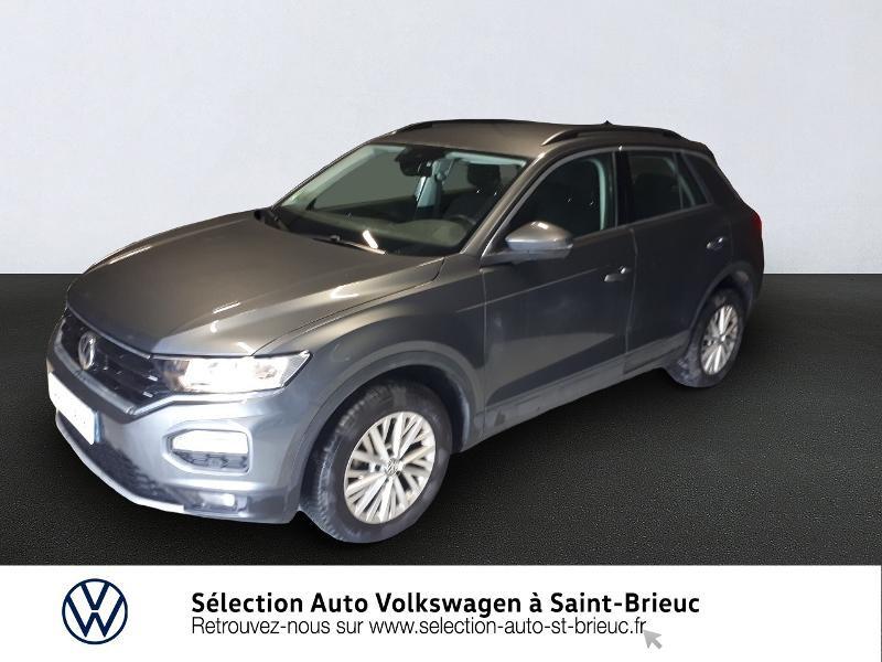 Volkswagen T-Roc 1.0 TSI 115ch Lounge Euro6d-T Essence GRIS INDIUM Occasion à vendre