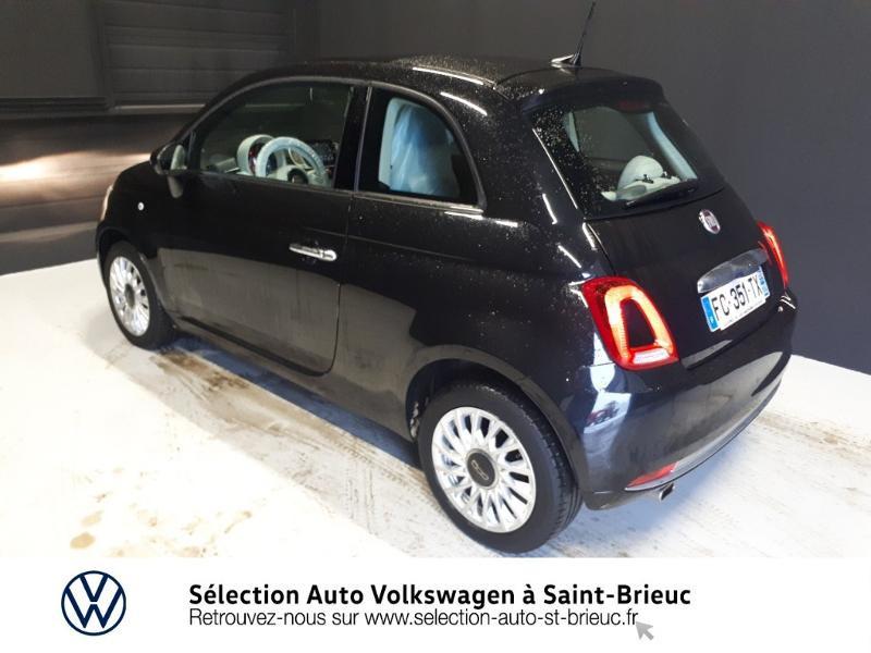 Photo 3 de l'offre de FIAT 500 1.2 8v 69ch Lounge Dualogic à 11490€ chez Garage de l'Avenir - SKODA Saint Brieuc