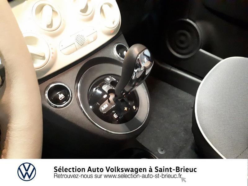 Photo 10 de l'offre de FIAT 500 1.2 8v 69ch Lounge Dualogic à 11490€ chez Garage de l'Avenir - SKODA Saint Brieuc