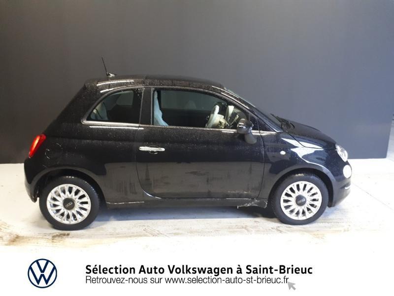 Photo 4 de l'offre de FIAT 500 1.2 8v 69ch Lounge Dualogic à 11490€ chez Garage de l'Avenir - SKODA Saint Brieuc