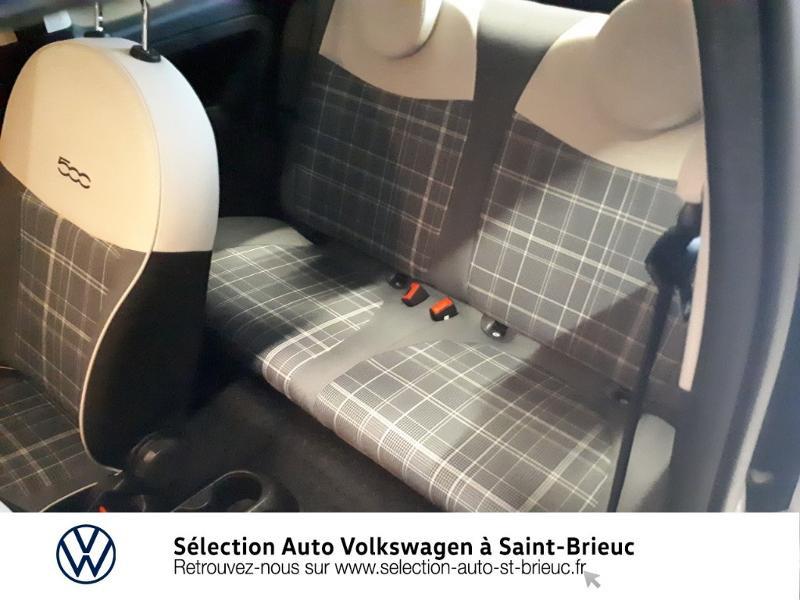 Photo 11 de l'offre de FIAT 500 1.2 8v 69ch Lounge Dualogic à 11490€ chez Garage de l'Avenir - SKODA Saint Brieuc