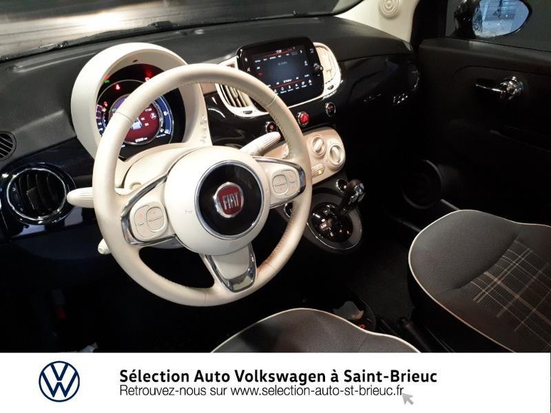 Photo 6 de l'offre de FIAT 500 1.2 8v 69ch Lounge Dualogic à 11490€ chez Garage de l'Avenir - SKODA Saint Brieuc