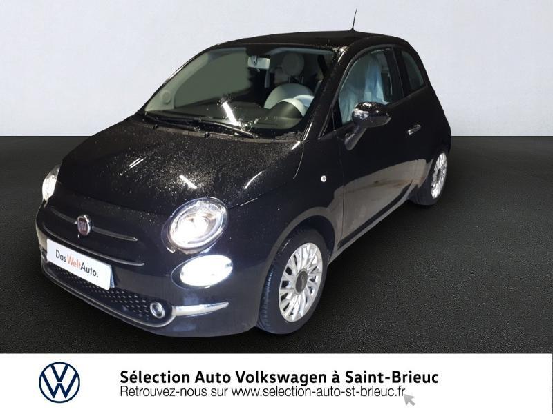 Photo 1 de l'offre de FIAT 500 1.2 8v 69ch Lounge Dualogic à 11490€ chez Garage de l'Avenir - SKODA Saint Brieuc