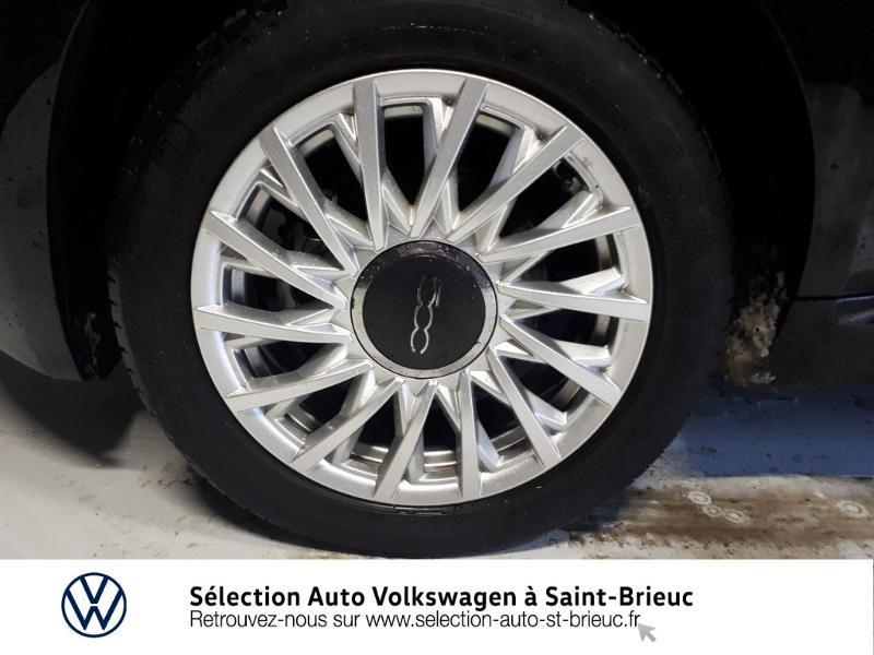 Photo 14 de l'offre de FIAT 500 1.2 8v 69ch Lounge Dualogic à 11490€ chez Garage de l'Avenir - SKODA Saint Brieuc