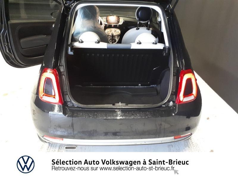 Photo 12 de l'offre de FIAT 500 1.2 8v 69ch Lounge Dualogic à 11490€ chez Garage de l'Avenir - SKODA Saint Brieuc