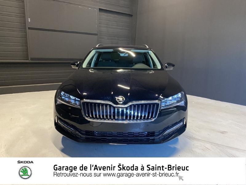 Photo 5 de l'offre de SKODA Superb Combi 2.0 TDI 122ch SCR Business DSG7 Euro6d-T EVAP à 34490€ chez Sélection Auto - Volkswagen Saint Brieuc
