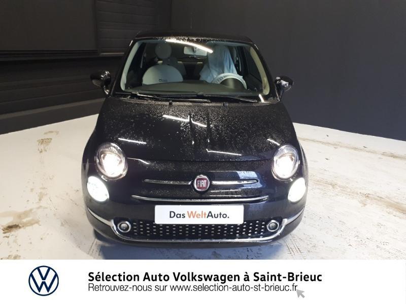Photo 5 de l'offre de FIAT 500 1.2 8v 69ch Lounge Dualogic à 11490€ chez Garage de l'Avenir - SKODA Saint Brieuc