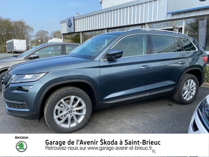 Photo 2 de l'offre de SKODA Kodiaq 2.0 TDI 150 SCR Style DSG Euro6ap 7 places à 37790€ chez Sélection Auto - Volkswagen Saint Brieuc