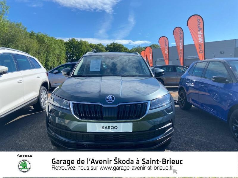 Photo 4 de l'offre de SKODA Karoq 1.6 TDI 116ch SCR Drive DSG Euro6d-T à 32490€ chez Garage de l'Avenir - SKODA Saint Brieuc