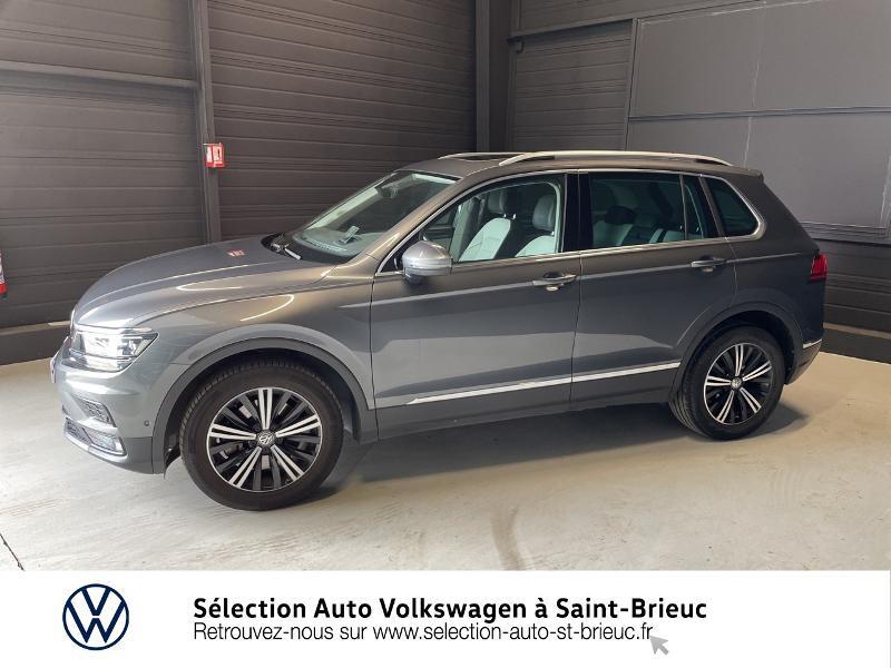 Photo 2 de l'offre de VOLKSWAGEN Tiguan 2.0 TDI 190ch Carat Exclusive 4Motion DSG7 à 33990€ chez Sélection Auto - Volkswagen Saint Brieuc