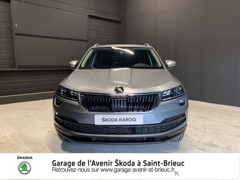 Photo 5 de l'offre de SKODA Karoq 2.0 TDI 116ch SCR CLEVER DSG Euro6d-T à 33290€ chez Sélection Auto - Volkswagen Saint Brieuc