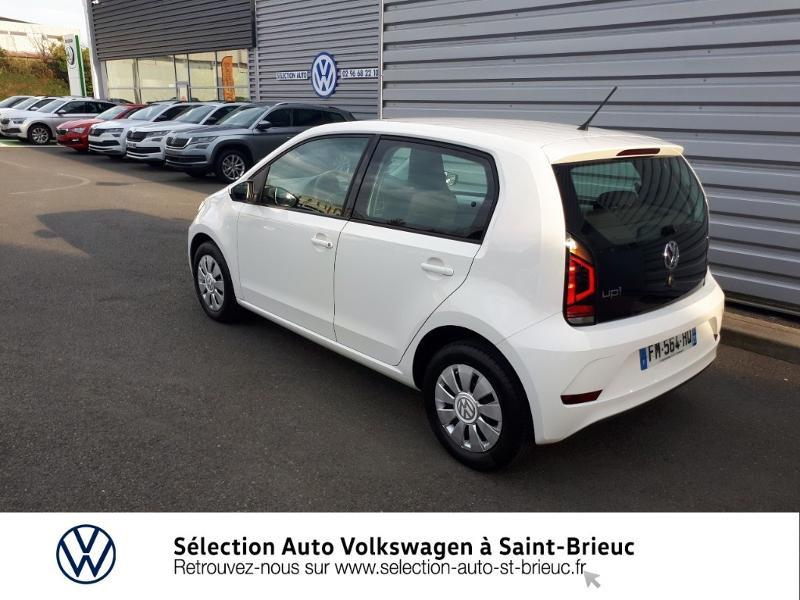 Photo 3 de l'offre de VOLKSWAGEN up! 1.0 60ch BlueMotion Technology Move up! 5p Euro6d-T à 9990€ chez Garage de l'Avenir - SKODA Saint Brieuc