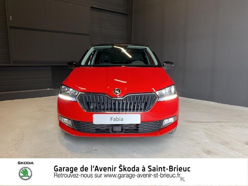 Photo 5 de l'offre de SKODA Fabia 1.0 MPI 60ch Drive 125 ans Euro6d-T 3cv à 13190€ chez Garage de l'Avenir - SKODA Saint Brieuc