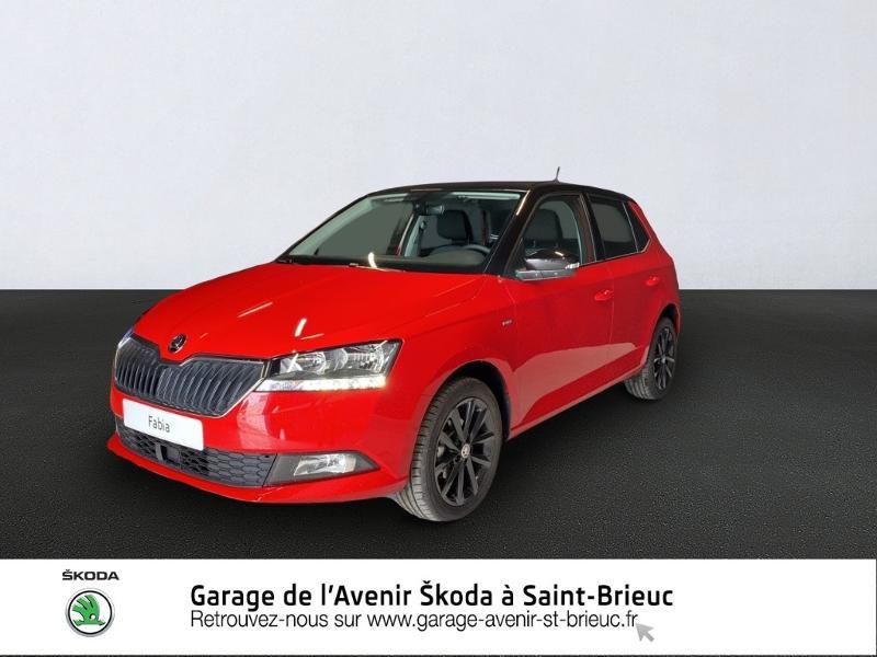 Photo 1 de l'offre de SKODA Fabia 1.0 MPI 60ch Drive 125 ans Euro6d-T 3cv à 13190€ chez Garage de l'Avenir - SKODA Saint Brieuc