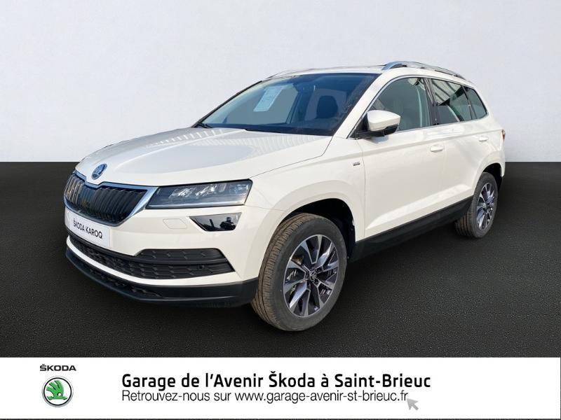 Photo 1 de l'offre de SKODA Karoq 1.0 TSI 116ch Drive Euro6d-T à 24490€ chez Garage de l'Avenir - SKODA Saint Brieuc