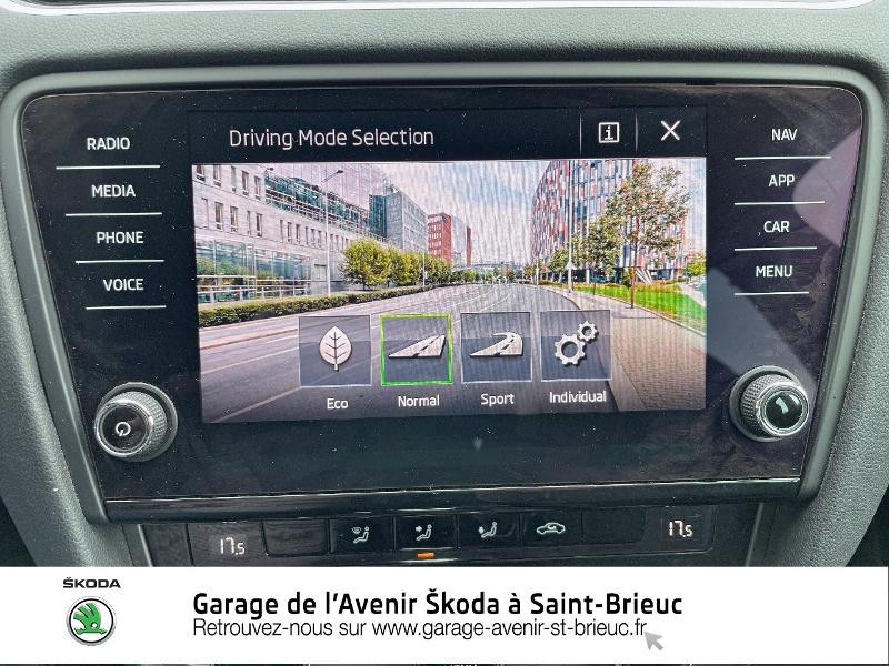 Photo 15 de l'offre de SKODA Octavia Break 2.0 TDI 184ch SCR RS DSG7 Euro6d-T à 30990€ chez Garage de l'Avenir - SKODA Saint Brieuc