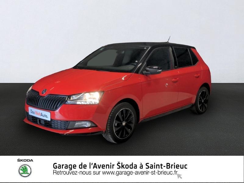 Photo 1 de l'offre de SKODA Fabia 1.0 TSI 95ch Monte Carlo Euro6d-T à 14890€ chez Garage de l'Avenir - SKODA Saint Brieuc