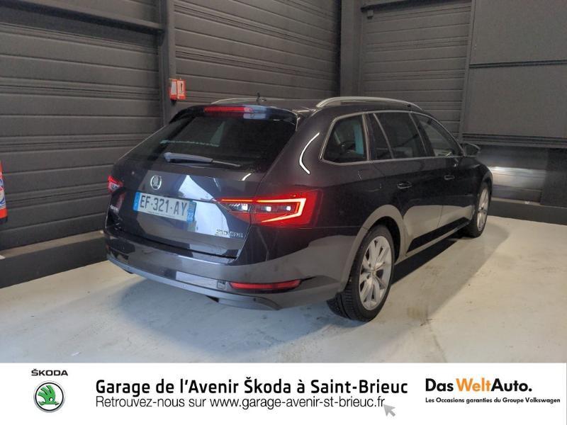 Photo 3 de l'offre de SKODA Superb Combi 2.0 TDI150 Greentec Style DSG à 20990€ chez Garage de l'Avenir - SKODA Saint Brieuc