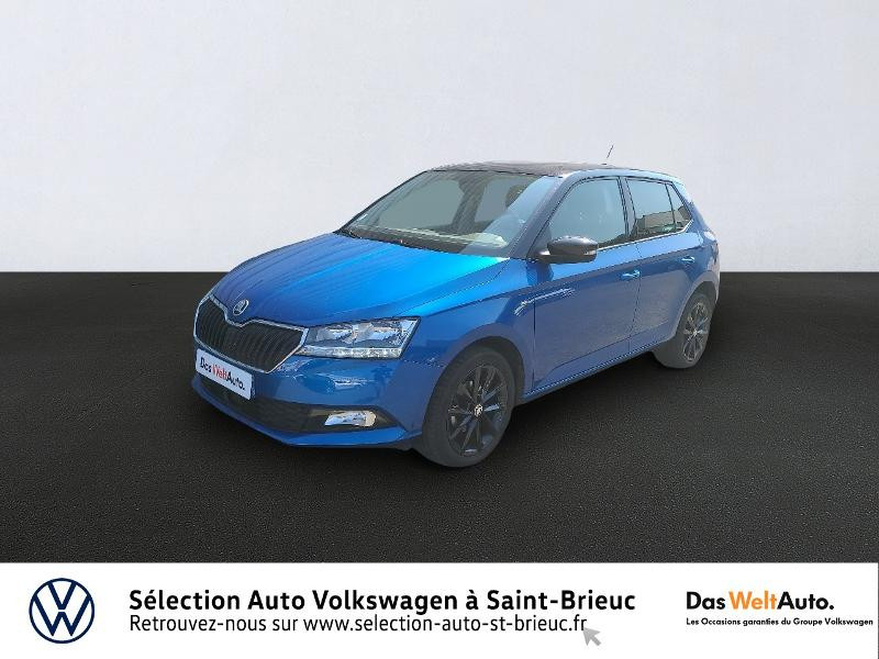 Photo 1 de l'offre de SKODA Fabia 1.0 MPI 60ch Edition à 11990€ chez Sélection Auto - Volkswagen Saint Brieuc