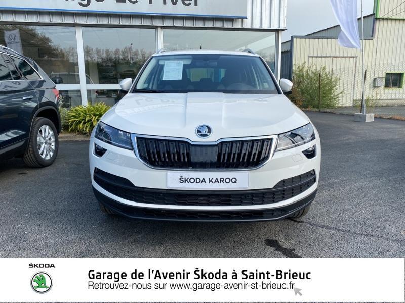 Photo 5 de l'offre de SKODA Karoq 1.0 TSI 116ch Drive Euro6d-T à 24490€ chez Garage de l'Avenir - SKODA Saint Brieuc