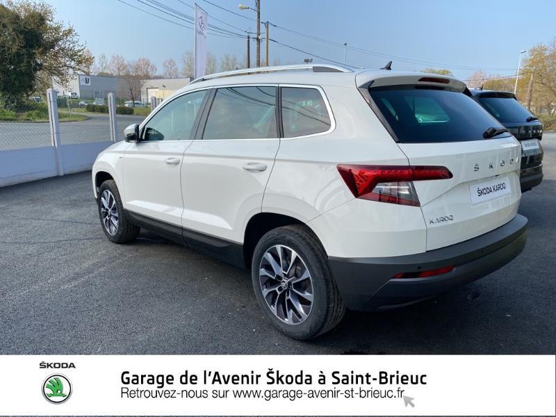 Photo 3 de l'offre de SKODA Karoq 1.0 TSI 116ch Drive Euro6d-T à 24490€ chez Garage de l'Avenir - SKODA Saint Brieuc