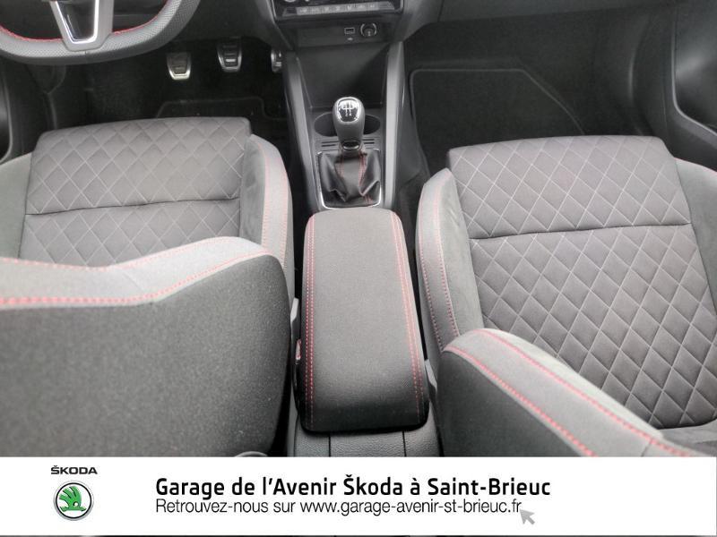 Photo 14 de l'offre de SKODA Fabia 1.0 TSI 95ch Monte Carlo Euro6d-T à 14890€ chez Garage de l'Avenir - SKODA Saint Brieuc
