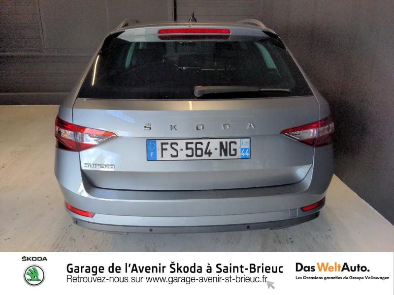 Photo 6 de l'offre de SKODA Superb Combi 2.0 TDI 150ch SCR Business DSG7 Euro6d-T EVAP 8cv à 27490€ chez Sélection Auto - Volkswagen Saint Brieuc