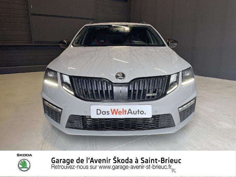 Photo 5 de l'offre de SKODA Octavia Break 2.0 TDI 184ch SCR RS DSG7 Euro6d-T à 30990€ chez Garage de l'Avenir - SKODA Saint Brieuc
