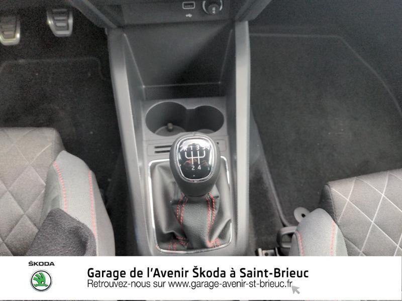 Photo 13 de l'offre de SKODA Fabia 1.0 TSI 95ch Monte Carlo Euro6d-T à 14890€ chez Garage de l'Avenir - SKODA Saint Brieuc